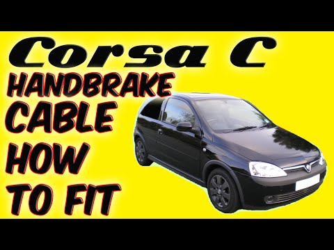 Vauxhall Corsa C Handbrake Cable How To Fit