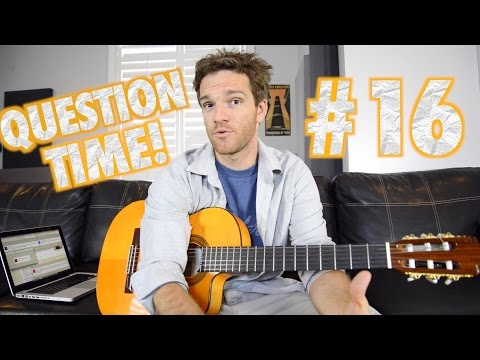 Question time! Sheet Music, YouTube, Guilty Pleasures and Josh Homme