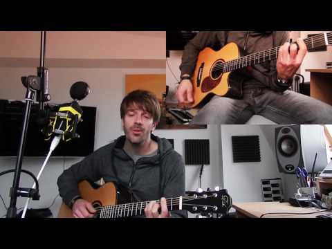 Blue Eyes Blue - Eric Clapton (Cover) - acoustic with solo