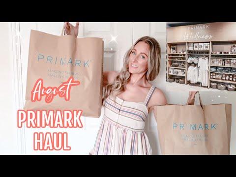 NEW PRIMARK HAUL | AUGUST PRIMARK TRY ON HAUL | Emma Nightingale