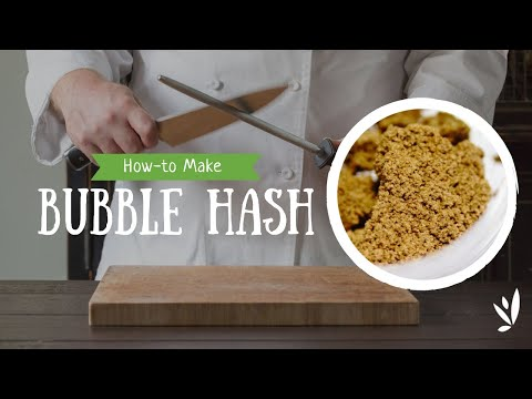 How-to Make Bubble Hash From A Half Pound Of Trim - Using Bubble Bags