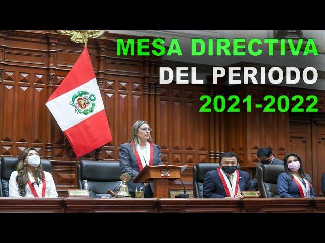 CONGRESO 🇵🇪: Así fue la JURAMENTACION de la MESA DIRECTIVA 2021-2022