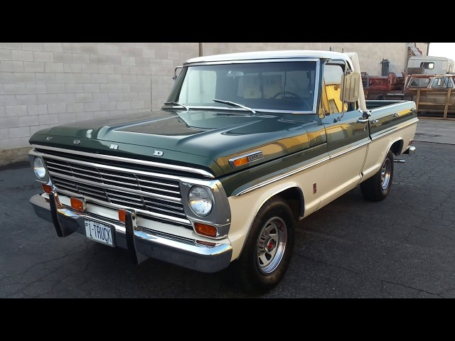 1968 Ford F100 short bed truck for sale. $17,000 USD Call Rob 208-860-1171 SOLD!!!