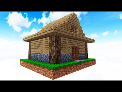 SURVIVING WITH ONLY A HOUSE!