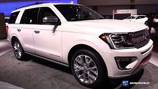 2018 Ford Expedition Platinum - Exterior and Interior Walkaround - 2017 LA Auto Show