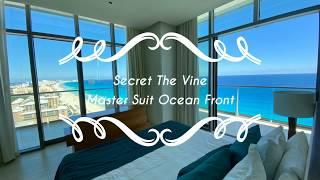 시크릿 더 바인 칸쿤- 마스터 스위트 오션 프론트 룸 리뷰 Secret The Vine Cancun- Mas…
