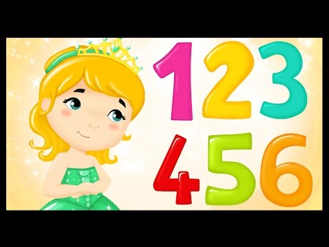 La chanson des chiffres  Apprendre les chiffres avec les princesses