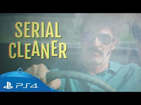 Serial Cleaner | Live Action Release Date Trailer | PS4