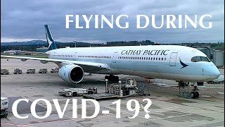 Premium Economy During COVID-19? Cathay Pacific Airbus A350-1000 Review | Zurich - Hong Kong CX382