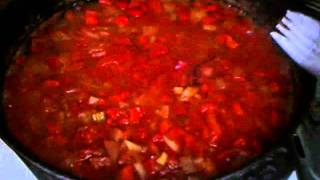 Canning Spicy Tomato Basil Soup