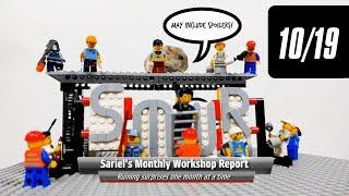 Sariel's Monthly Workshop Report 10/2019