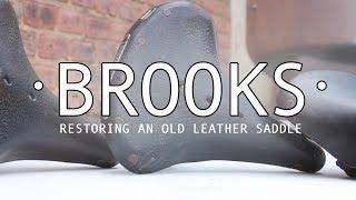DIY Saddle/Seat Restoration | Reviving Old Leather Using Mink Oil | Brooks Bicycle Saddle