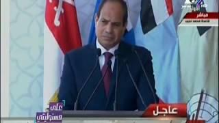 على مسئوليتي - الرئيس السيسي يوجه رسالة ساخنة لدولة قطر