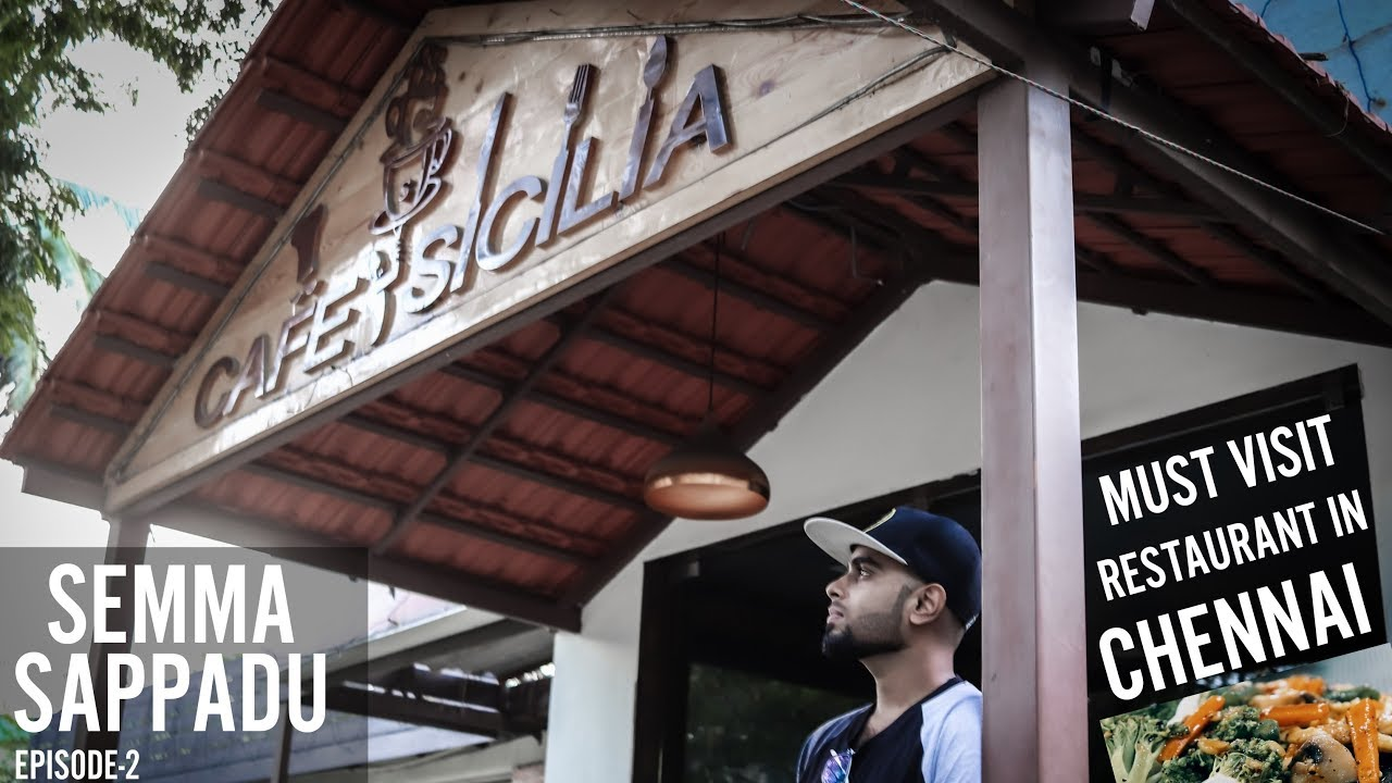Semma Sappadu With Vijay Immanuel - Episode 2 | What's Special In Cafe Sicilia?