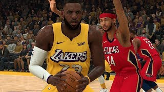 NBA Today 1/3 Los Angeles Lakers vs New Orleans Pelicans Full Game Highlights | NBA 2K
