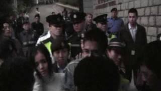 禮賓府開放日警員無理阻止雷玉蓮參觀實錄3