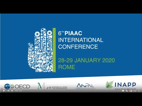 6th PIAAC Conference Rome-2020