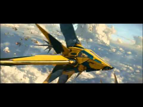 Guardians Of The Galaxy - The Nova Corps In Action (Blockade Scene)