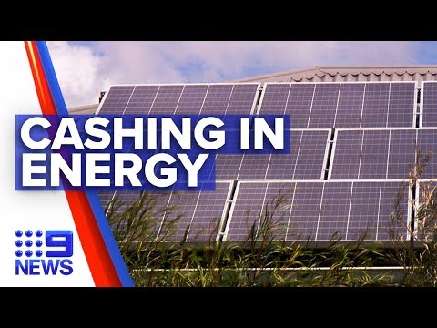 New scheme to cash in solar energy | Nine News Australia