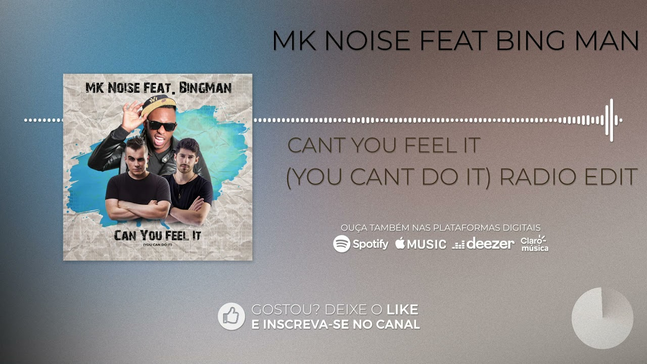 MK Noise feat  Bing Man - Can you Feel It (You Cant Do It) [Radio Edit]
