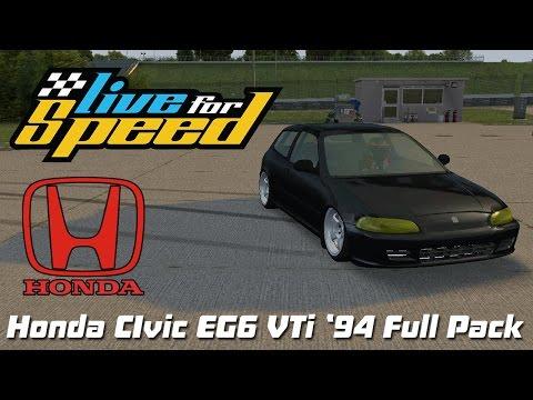 LFS - Honda Civic Eg6 VTi '94 Full Pack