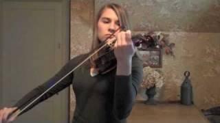 May It Be - Lord of the Rings/Enya (Violin Cover) Taylor Davis