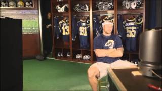Chris Long Gets a Pie In The Face During a Live Interview (Smack Cam) FULL VIDEO / DIFFERENT ANGLES
