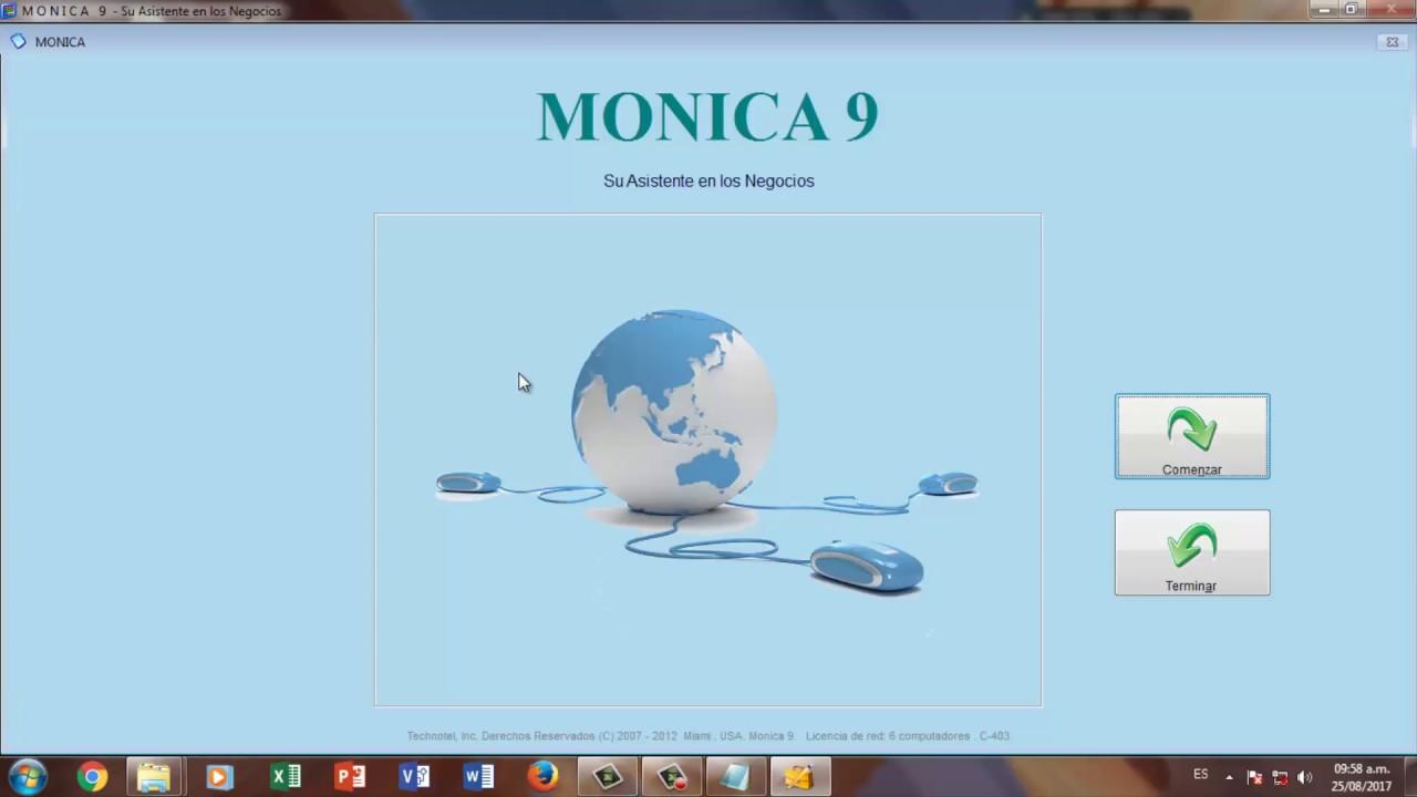 Instalar Mónica 9 Completo Software de Contab…