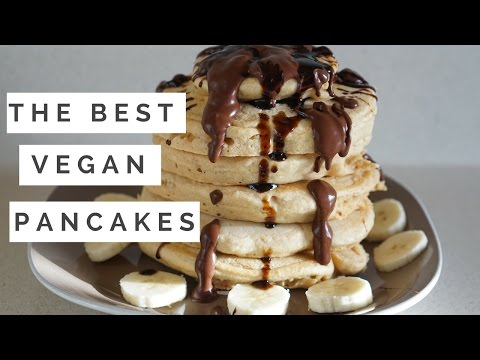 THE BEST HCLF PANCAKES// OIL FREE + EASY