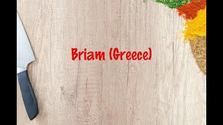 How to cook - Briam (Greece)