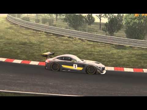 [Assetto Corsa] Mercedes-Benz AMG GT3 @ Nordschleife Tourist (Dream Pack3)  