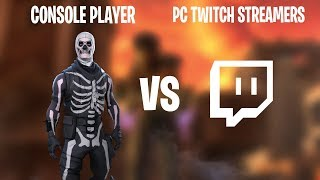 Killing Pc Twitch Streamers On Controller (Fortnite)