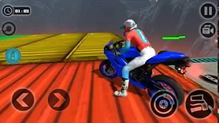 Chơi game đua xe máy - Impossible Motor Bike  Tracks # 42