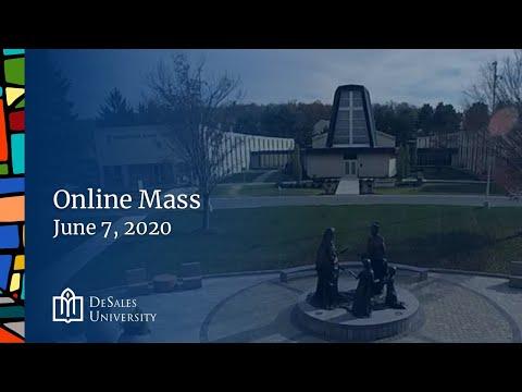 ✟ Online Mass, June 7, 2020 — DeSales University