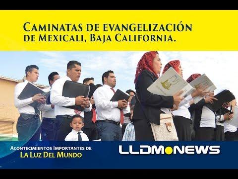 Caminatas de evangelización de Mexicali Baja California.