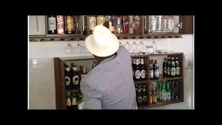 [Photos] Raila 'samples alcohol' as Makau Mutua launches Kitui Villa