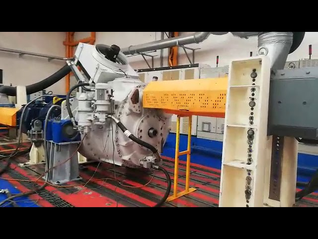 PLH-1100 Gearbox Repair and Load Test - ABS Wind Mex