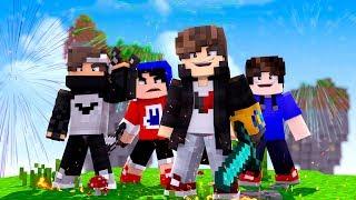 Minecraft: FIZEMOS A PARTIDA PERFEITA NO BEDWARS ‹ JUAUM ›