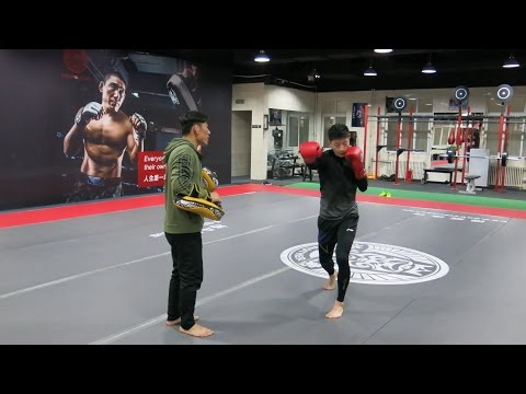 20170123 Ma Long MMA Training
