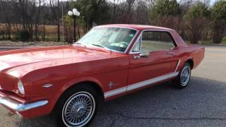 1965 ford mustang red for sale at www coyoteclassics com