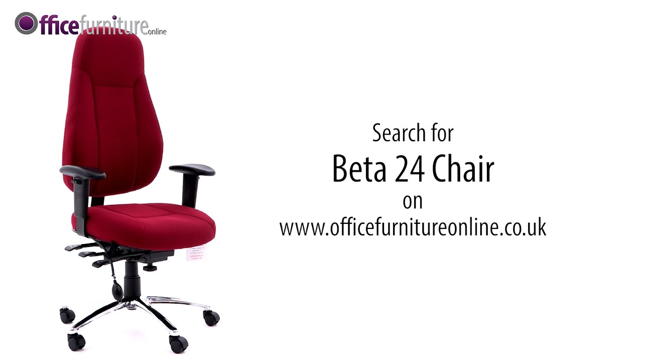 24 Hour Office Chairs Beta 24 Hour Ergonomic Task Chair Features And User Guide