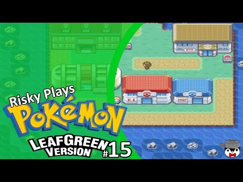 Risky Play Pokémon Leaf Green Episode #15 Cinnabar Island This Place Is Going To Burn