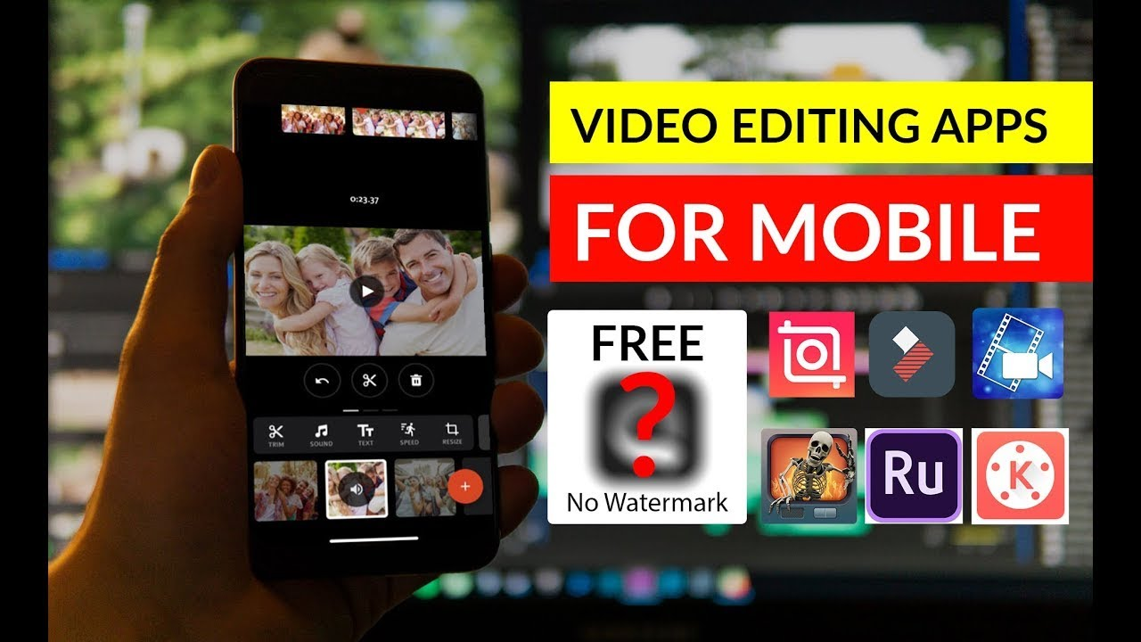 Mobile Editing Software FREE #noWaterMark