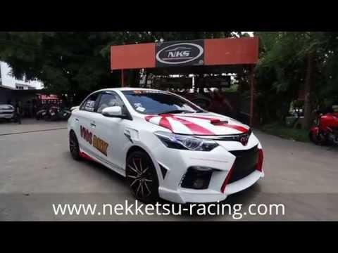 ชุดแต่ง Toyota VIOS 2013 ทรง I.S Sport จาก NEKKETSU racing