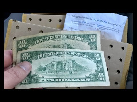 Old Bank Note Score! Plus $20.00 In Loose Half Dollars! Tellers Are Your Friends!