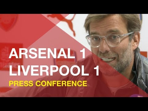 Arsenal 1-1 Liverpool | Jurgen Klopp Press Conference