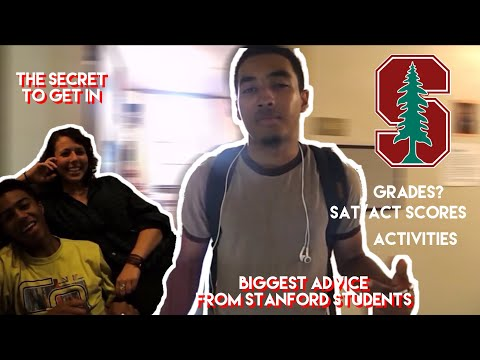 Biggest Advice From Stanford Students | Stanford Series