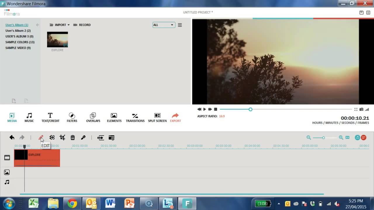 Wondershare video editor tutorial in hindi youtube.