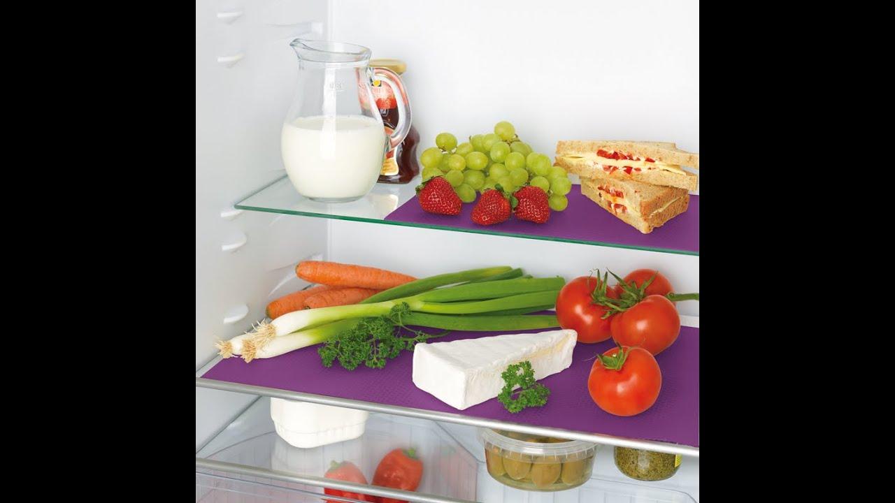 Kühlschrank Matte Antibakteriell : Gourmetmaxx kühlschrankmatten maxx world youtube