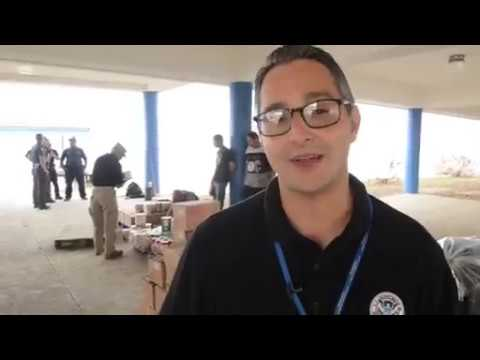 U.S. Coast Guard delivers aid, provides security in Ponce, Puerto Rico